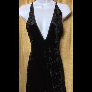 Fredericks of Hollywood Black Maxi Dress